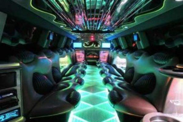 Hummer Limo Interior Orlando